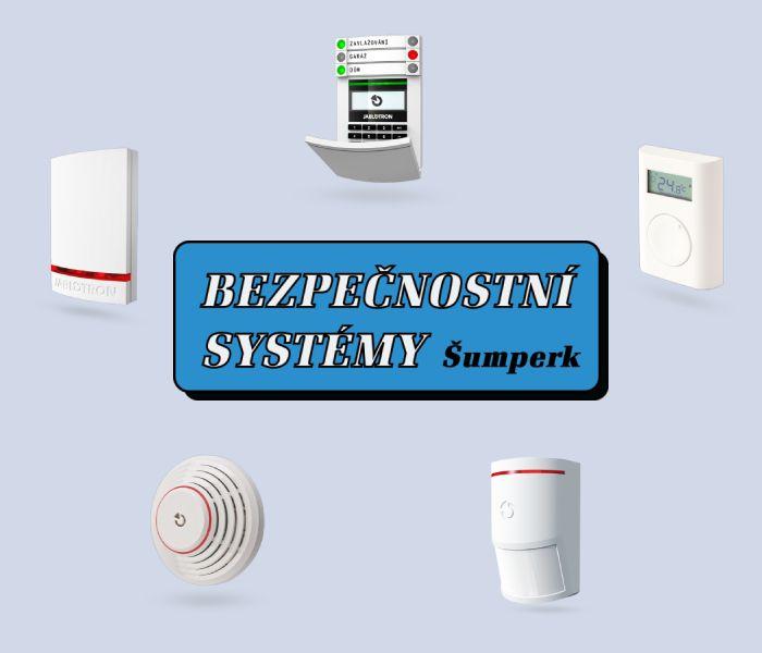 Alarmy EZS v Šumperku